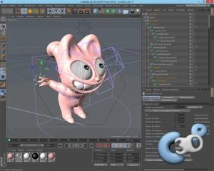Le logiciel de modélisation et d'animation