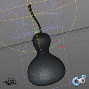 modélisation d'un cougourdon en 3D