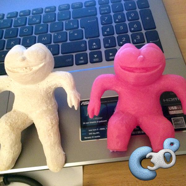 duplication d'un objet 3D à l'aide d'un scanner 3D