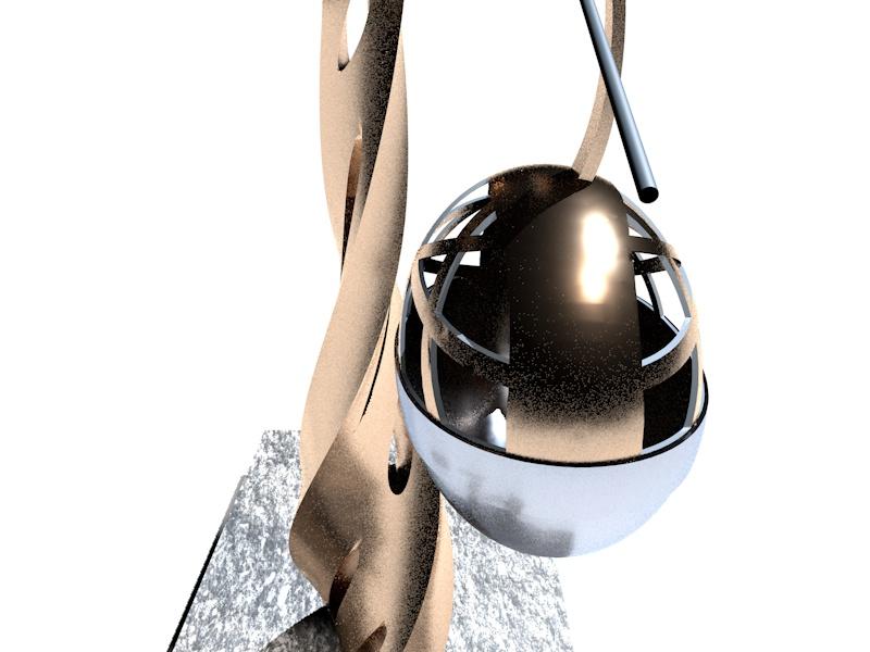 Première sculpture entièrement réalisée en impression 3D en métal