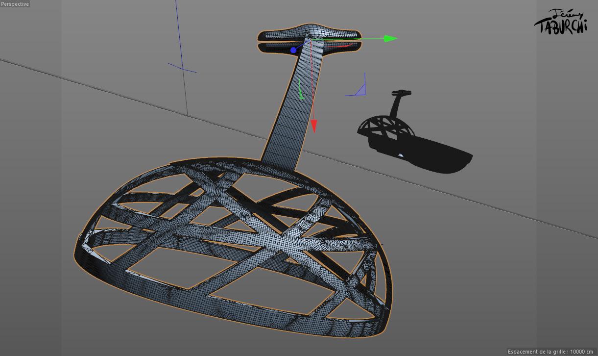 La fabrique d'un objet 3D, partie 1 : Conception et modélisation. Les étapes de la réalisation d'une sculpture 3D, de sa modélisation à sa fabrication. Un projet de Jérémy Taburchi / Crea3Dprint.com.