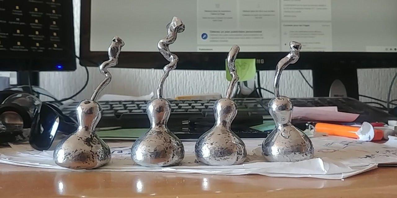 Impression 3D d'une cougourde en aluminium
